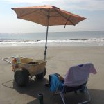 Sit back and relax on Tybee beach.