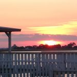 Tybee sunset at the back river.